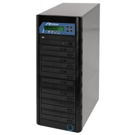 Networkable CopyWriter Pro 1-to-7 DVD / CD Tower Duplicator