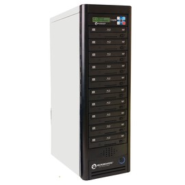 HDD to 10 12X Blu-ray Daisy Chain Duplicator Tower