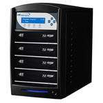 SharkNet HDD to 4 12x Blu-ray DVD CD Duplicator 500GB Hard Drive - Black