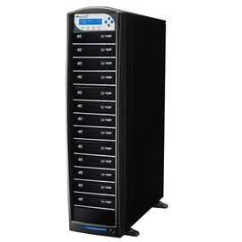 SharkBlu Pioneer 12x SATA  HDD to   Blu-ray DVD CD  Duplicator with 500GB HDD & USB 3.0 Multi-File CopyConnect - Black