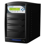 Karaoke Mix Pro SATA 1 to 2 CD+G/DVD/CD Tower Duplicator with 320GB HDD - Black