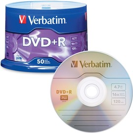 DVD+R 16x 4.7GB Branded 50pk Spindle