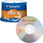 DVD-R 16x 4.7GB Branded 50pk Spindle