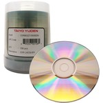 CD-R 52x 80min 700MB Shiny Silver Thermal Print 100pk Spindle