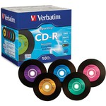 Digital Vinyl CD-R 52x 80min 700MB 10pk Jewel Case