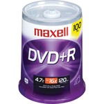 DVD+R 16x 4.7GB Branded 100pk Spindle