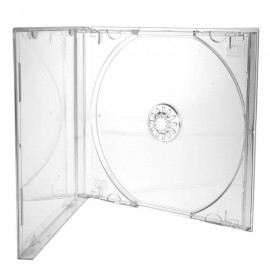 Standard Jewel Cases Clear Tray 200pk