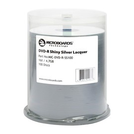 DVD-R 16x 4.7GB Shiny Silver Thermal Print 600pk Case