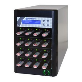 CopyWriter 15 Drive USB Flash Drive Duplicator Tower