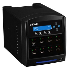 1 to 7 USB Flash Drive Duplicator Tower