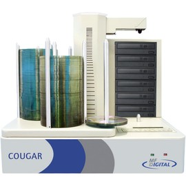 Cougar 6600 High Speed 6 Drive Blu-ray / CD / DVD Auto Duplicator - 600 Disc Capacity