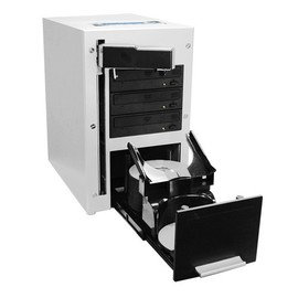 The Cube 3 Drive 24x SATA DVD / CD Auto Duplicator with 320GB HDD